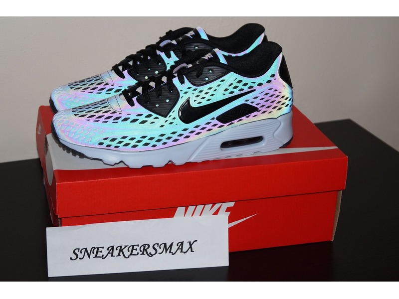 low priced a87db 68b5c Nike Air Max 90 Ultra Moire Holographic For Sale