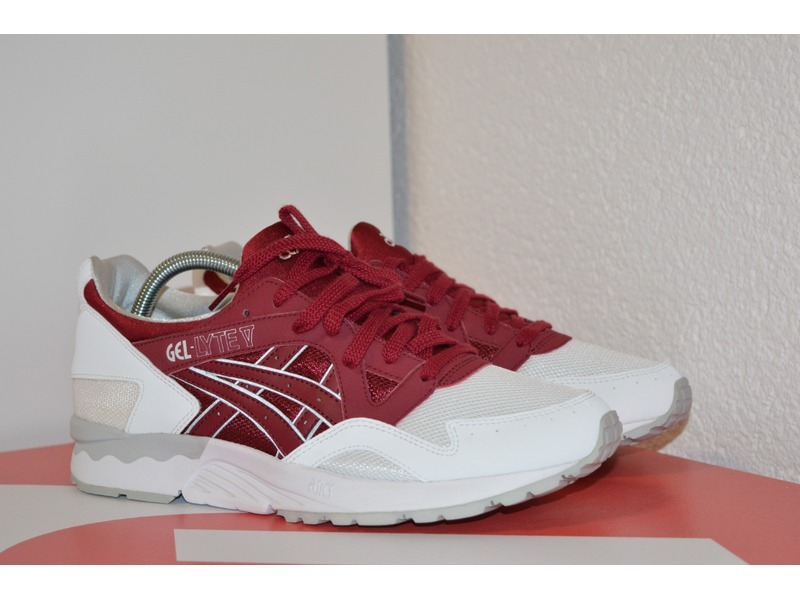 asics gel lyte v red foot locker