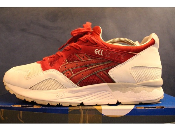 asics gel lyte v foot locker burgundy