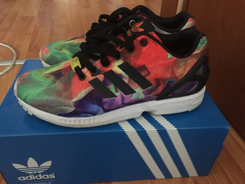 83ae8de7b264b adidas zx flux rainbow on sale   OFF31% Discounts