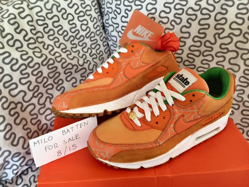 new product 99c54 23fb5 ... Nike Air Max 90 x Patta x State Magazine Reverse Homegrown-