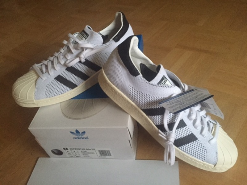 b4f2e235d1da7a Adidas Consortium Superstar 80s Primeknit OG US 9.5 43 1 3 ( 212866 ...