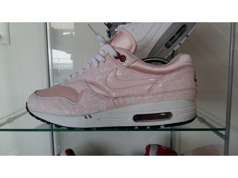 reputable site 7ad34 7bb4a Nike Air Max 1 Pink Powerwall