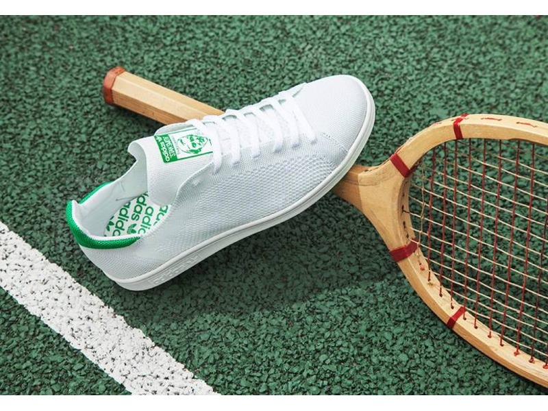 Stan Smith Primeknit White Green
