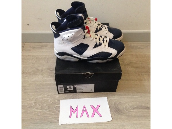 Nike Air Jordan Retro 6 Olympic (AJ6) - photo 1/5