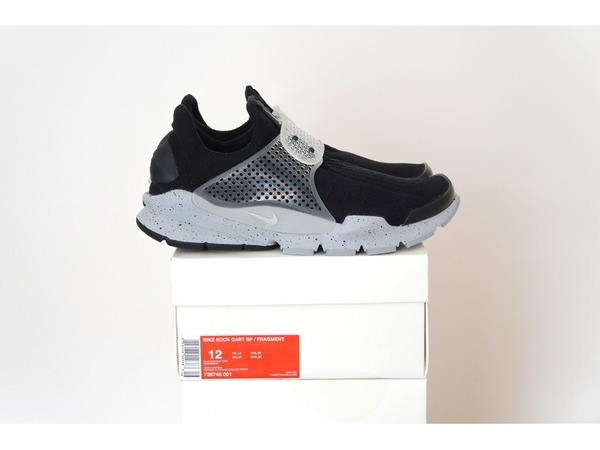 <strong>Nike</strong> <strong>Sock</strong> <strong>Dart</strong> <strong>x</strong> <strong>Fragment</strong> Design Black Cement <strong>Oreo</strong> 728748-001 US12 - UK11 - EUR46 - photo 1/1
