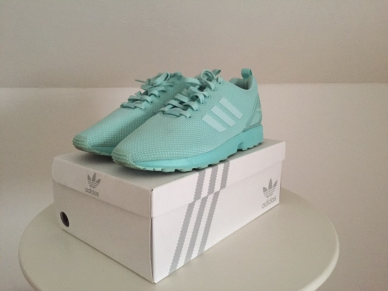 adidas ZX Flux NPS Mid in White & Turquoise Review On Feet HD