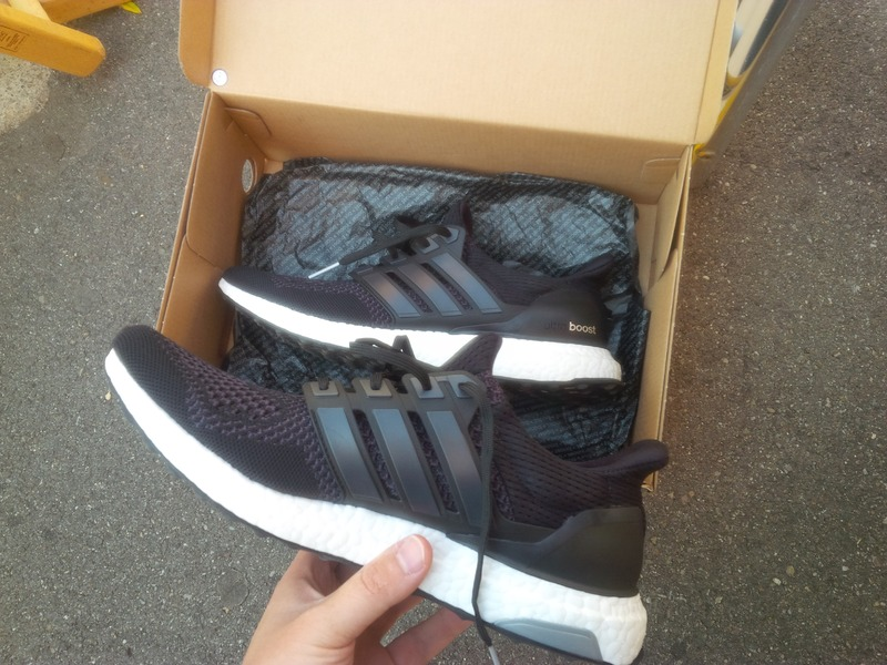 adidas ultra boost mens black