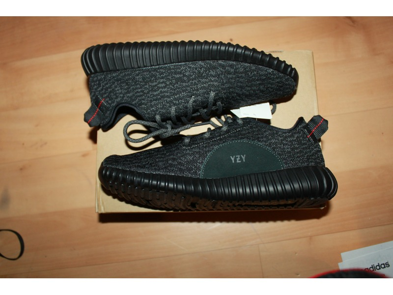 Adidas Yeezy 350 V2 Black White BY1604 Mens Size 12