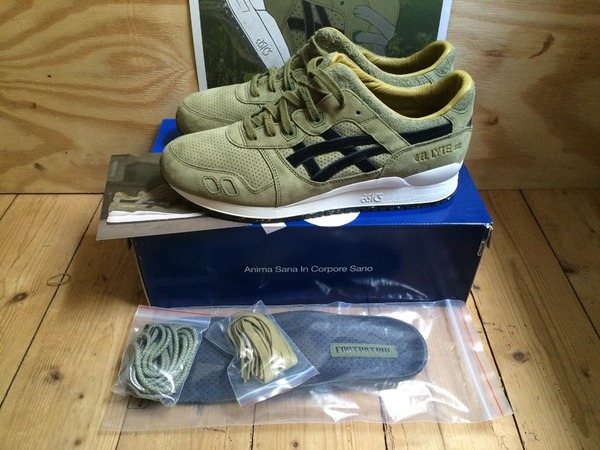 size swap Asics gel lyte 3 footpatrol 'squad' - photo 1/3