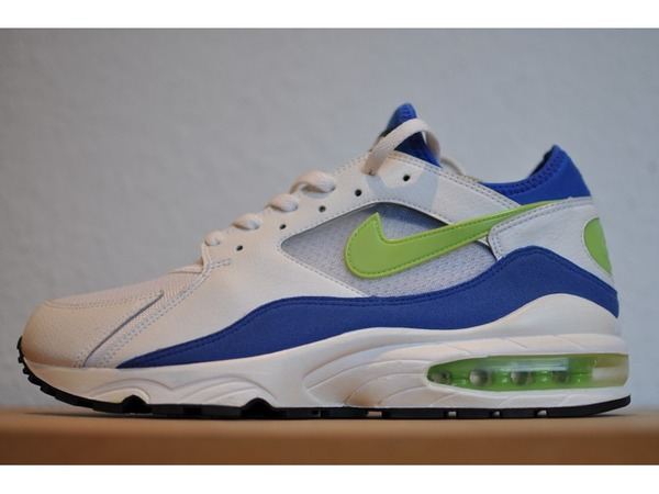 <strong>Nike</strong> Air Max 93 Blue Lime WMNS History Of Air HOA US 11 (like men US 9.5) EU 43 DS Deadstock - photo 1/8
