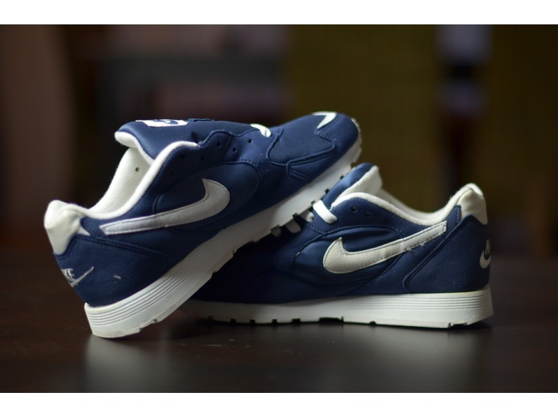 Nike Outburst Vintage from 1996 Navy Deadstock - photo 2/2