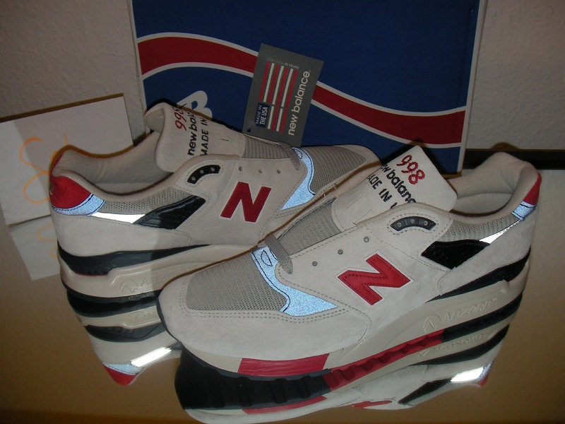 NEW BALANCE X J.CREW M 998 JS4 Independence Day Made in U.S.A. US 11.5