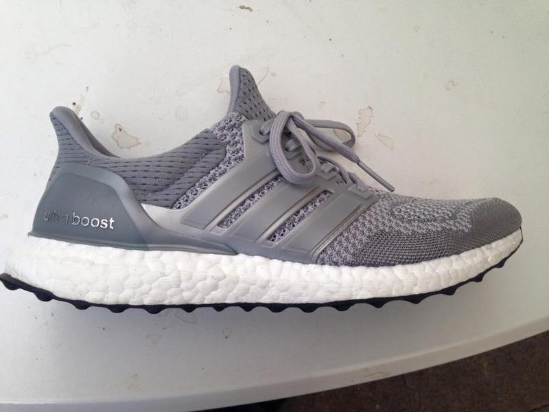 Adidas Ultra Boost Silver Ltd