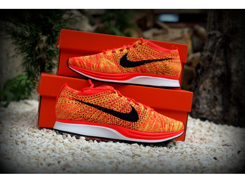 38615ad7f105 Nike Flyknit Racer Bright Crimson cost2insure.co.uk