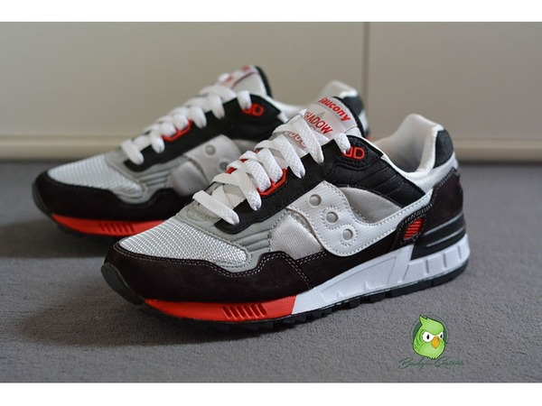 "<strong>Saucony</strong> Shadow 5000 ""Infrared"" custom by Budgie-customs, US/7 UK/6 EU/40 - photo 1/3"