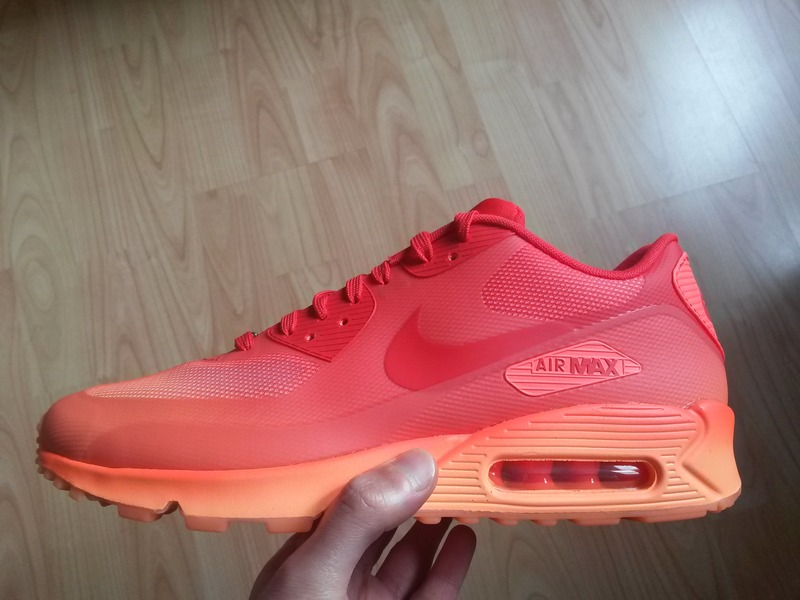 nike air max 90 qs hyperfuse - red