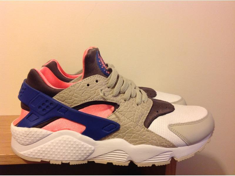 09280bc86b56db ... Nike Air Huarache OG Grey Royal Pink Size   Exclusive - photo 3 5