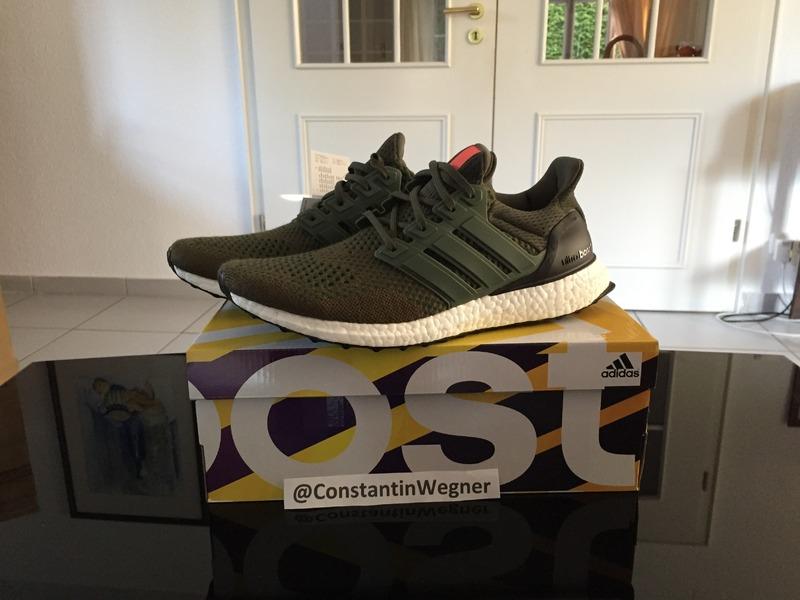 Ultra Boost Adidas Green