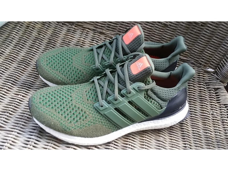 Ultra Boost Adidas Green
