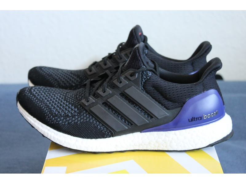 Adidas Ultra Boost Core Black Purple