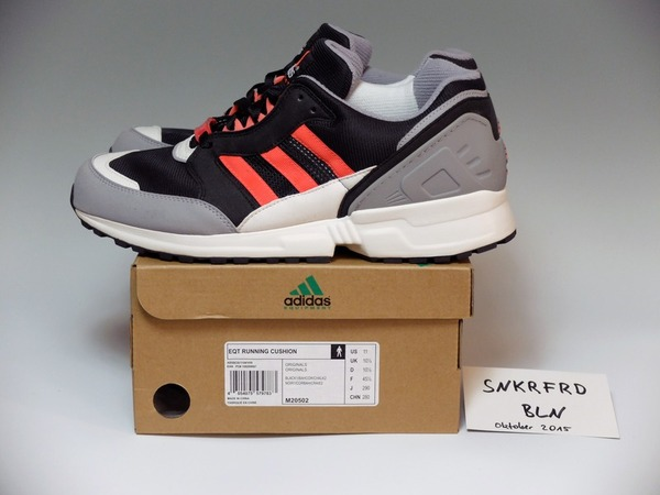 "EASY DOES IT x Adidas Equipment Running Cushion `93 ""BERLIN"" LIMITED to 250 Pairs - photo 1/2"