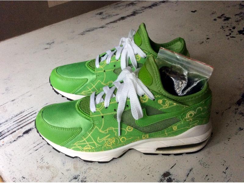 c88ad0c5b7b7a0 ... Nike Air Max 93 Green Powerwall - photo 33 ...