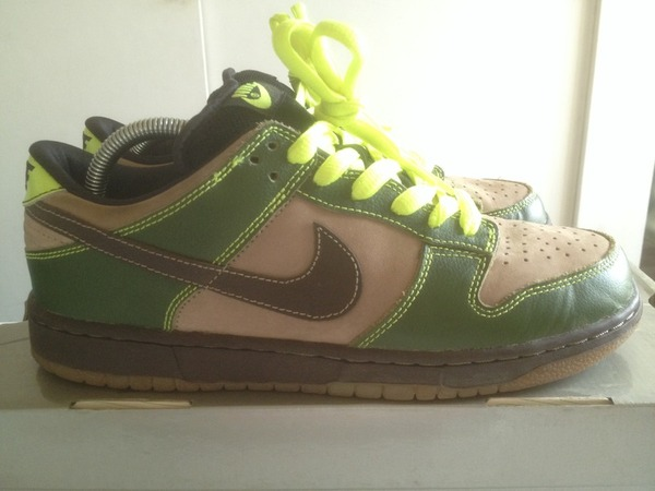 Nike SB Dunk Low JEDI - photo 1/4