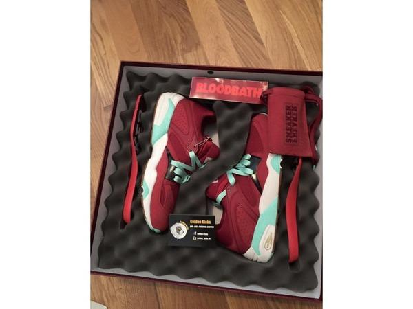 "Puma Blaze of Glory Sneaker Freaker x Puma Blaze of Glory ""<strong>Bloodbath</strong>"" x Packer Shoe - photo 1/1"