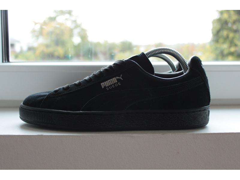 Puma Suede Classic All Black