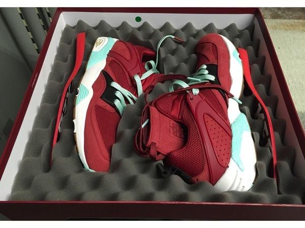 "Sneaker Freaker x Packer x Puma Blaze of Glory ""<strong>Bloodbath</strong>"" Shark Attack Black Beast Great White Fieg - photo 1/4"
