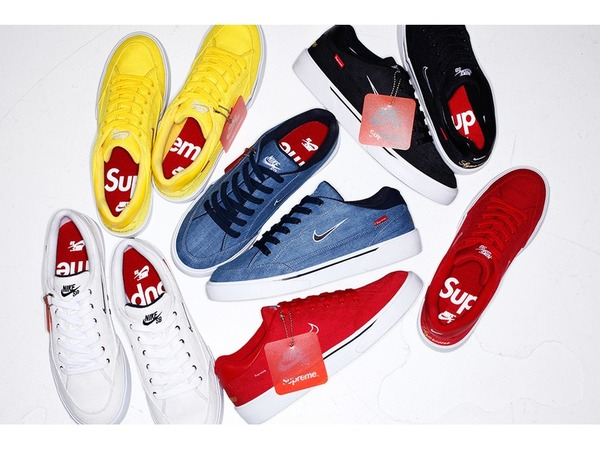 <strong>Nike</strong> <strong>SB</strong> <strong>GTS</strong> <strong>x</strong> <strong>Supreme</strong> Black or White in US10,5 - 11 - photo 1/1