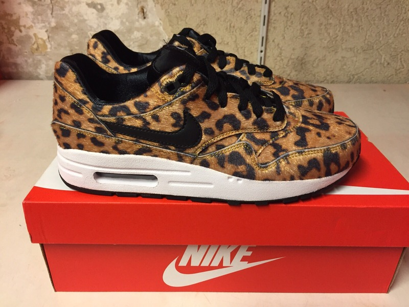 nike air max 1 black and gold leopard nz