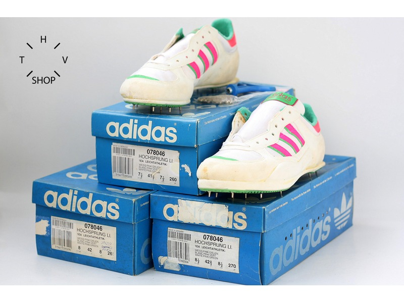 Vintage Adidas Track Field Hochsprung High Jump Shoes