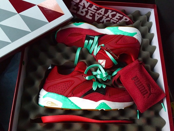 "Puma Sneaker Freaker x Packer x Puma ""<strong>Bloodbath</strong>"" Blaze Of Glory - photo 1/1"