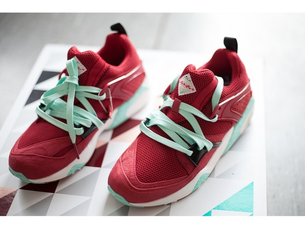 "Puma Blaze of Glory Sneaker Freaker x Puma Blaze of Glory ""<strong>Bloodbath</strong>"" x Packer Shoes - photo 1/6"