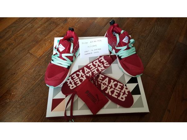 Puma Blaze of Glory Sneaker Freaker packer <strong>Bloodbath</strong> - photo 1/2