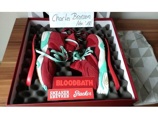 Puma Blaze of Glory Sneaker freaker x Packer Shoes <strong>Bloodbath</strong> US10.5 44 - photo 1/2