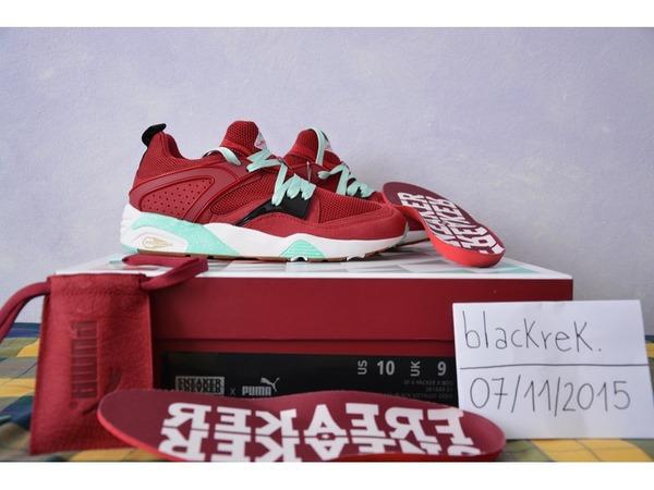 "Puma Blaze of Glory ""<strong>Bloodbath</strong>"" x Sneaker Freaker x Packer Shoes - photo 1/4"