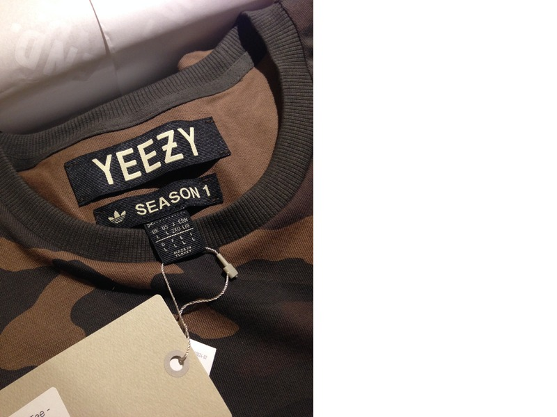 Adidas Yeezy Tag