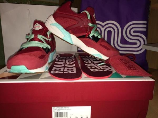 Puma Blaze of Glory Sneaker freaker x Packer Shoes <strong>Bloodbath</strong> - photo 1/3