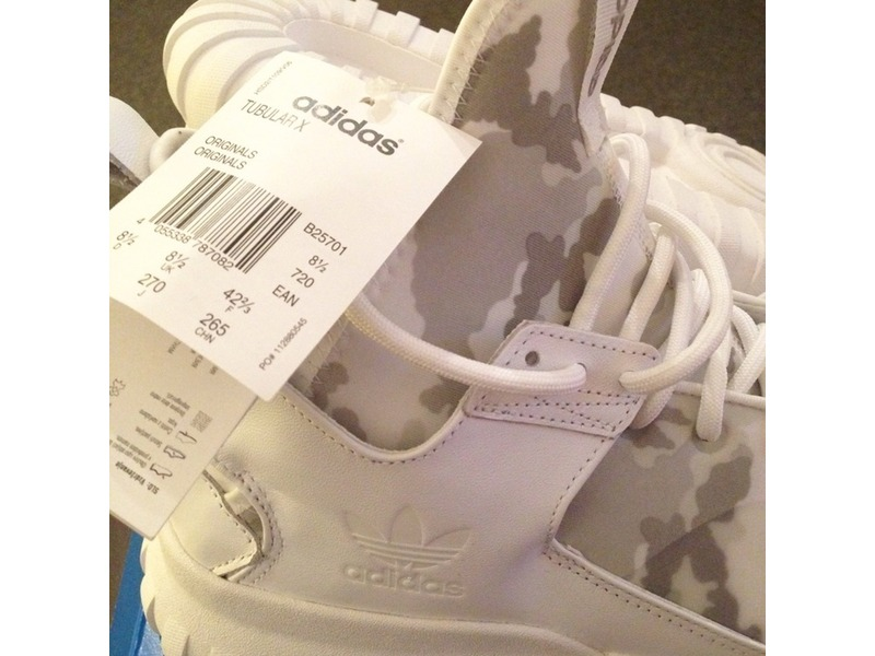 Adidas Tubular Camo White