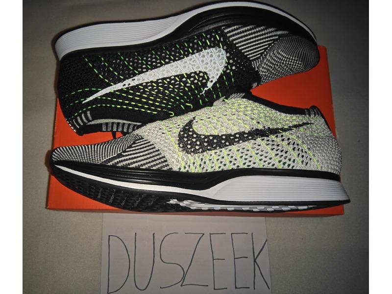 Nike Flyknit Racer Orca Volt