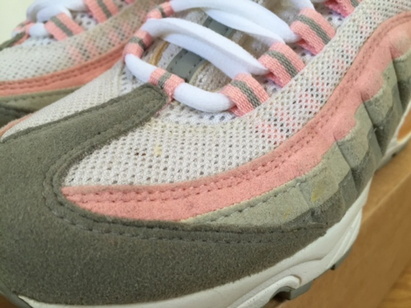 5c5f23ed0b4bb order gray and pink nike air max 95 1a261 9d73c  where to buy air max 95  pink grey 471de 8d571