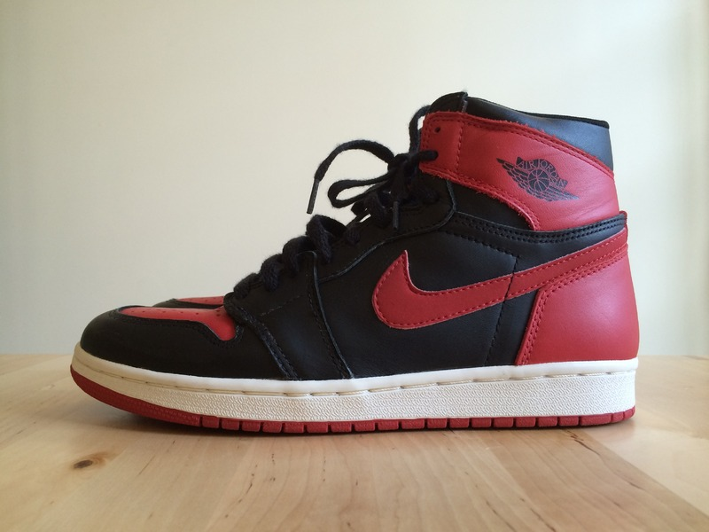 finest selection d9082 c2f26 ... Nike Air Jordan 1 BRED DS 1994 - photo 3 6 ...