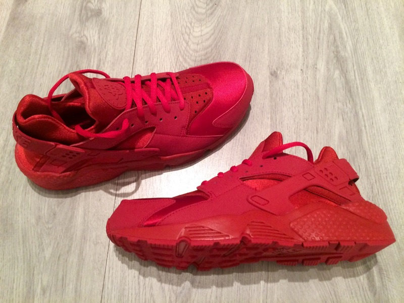 online store 0075a 54079 ... denmark womens nike air huarache ruby pack triple red photo a77be 2f6c5