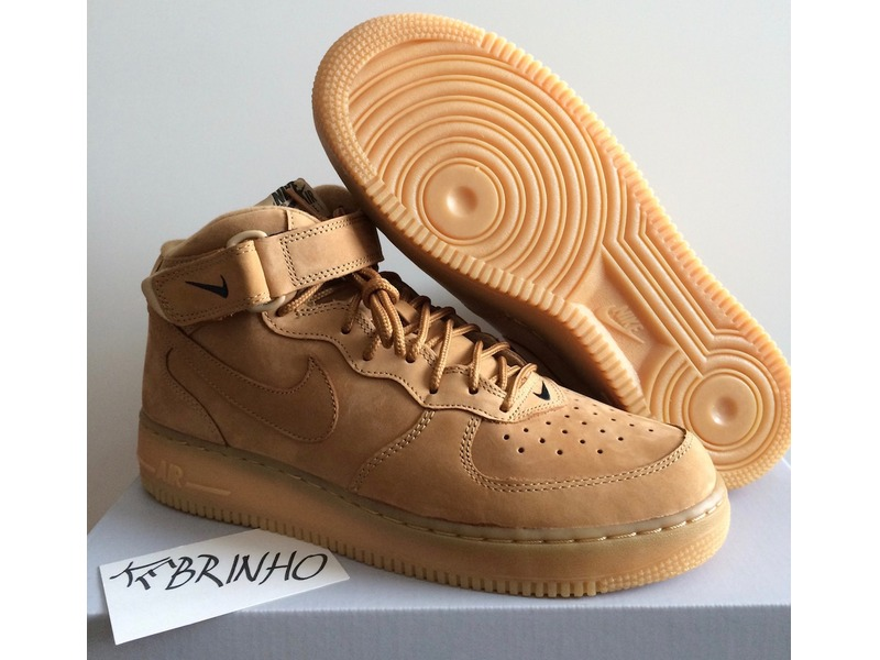 Air Force 1 Mid 07 Prm Qs Flax