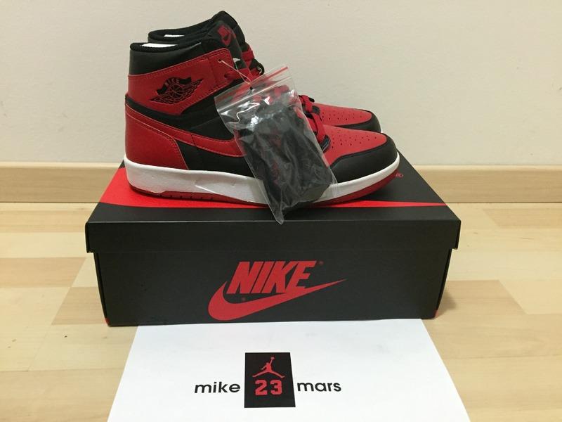 on sale ce17d 22812 Nike air jordan 1 high the return bred