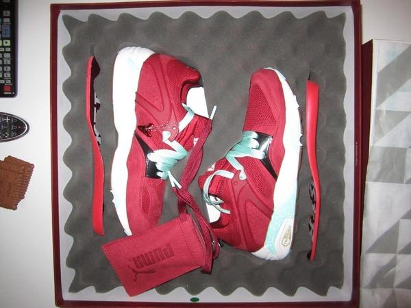 Puma x Sneaker Freaker x Packer - Blaze Of Glory BOG - <strong>BLOODBATH</strong> US 7.5 New - photo 1/2