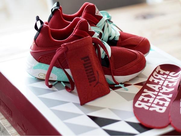 "Puma Puma BOG x Packer Shoes x Sneaker Freaker ""<strong>Bloodbath</strong>"" - photo 1/3"